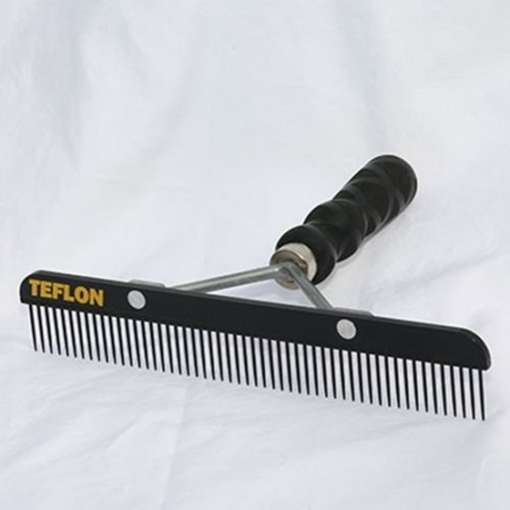 Sullivan Cow Calf Steer Holstein Heifer TEFLON Show Comb Textured Grip Handle