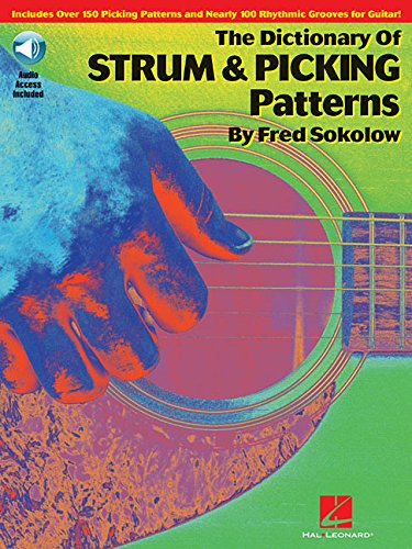 Free Dictionary of Strum and Picking Patterns for Guitar Bk/online audio