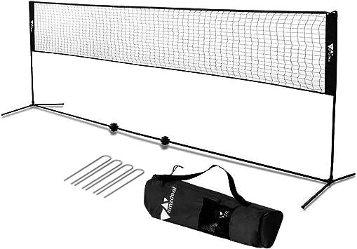 Badmintonnetz Tennisnetz Volleyballnetz Federballnetz Badminton Netz Tasche 4 M
