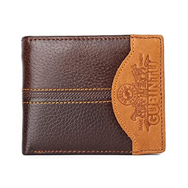Famous Luxury Brand Genuine Leather Men Wallets Coin Pocket Zipper portfolio cartera (Car)