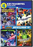 4 Kid Favorites: LEGO DC Super Heroes (DVD)