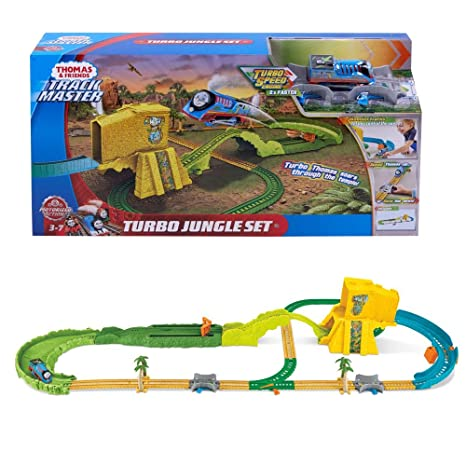 Mattel Turbo Jungle Play Set FJK50 | Trackmaster | Thomas y Sus Amigos