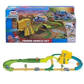 Mattel Turbo Jungle Play Set FJK50 | Trackmaster | Thomas y Sus Amigos