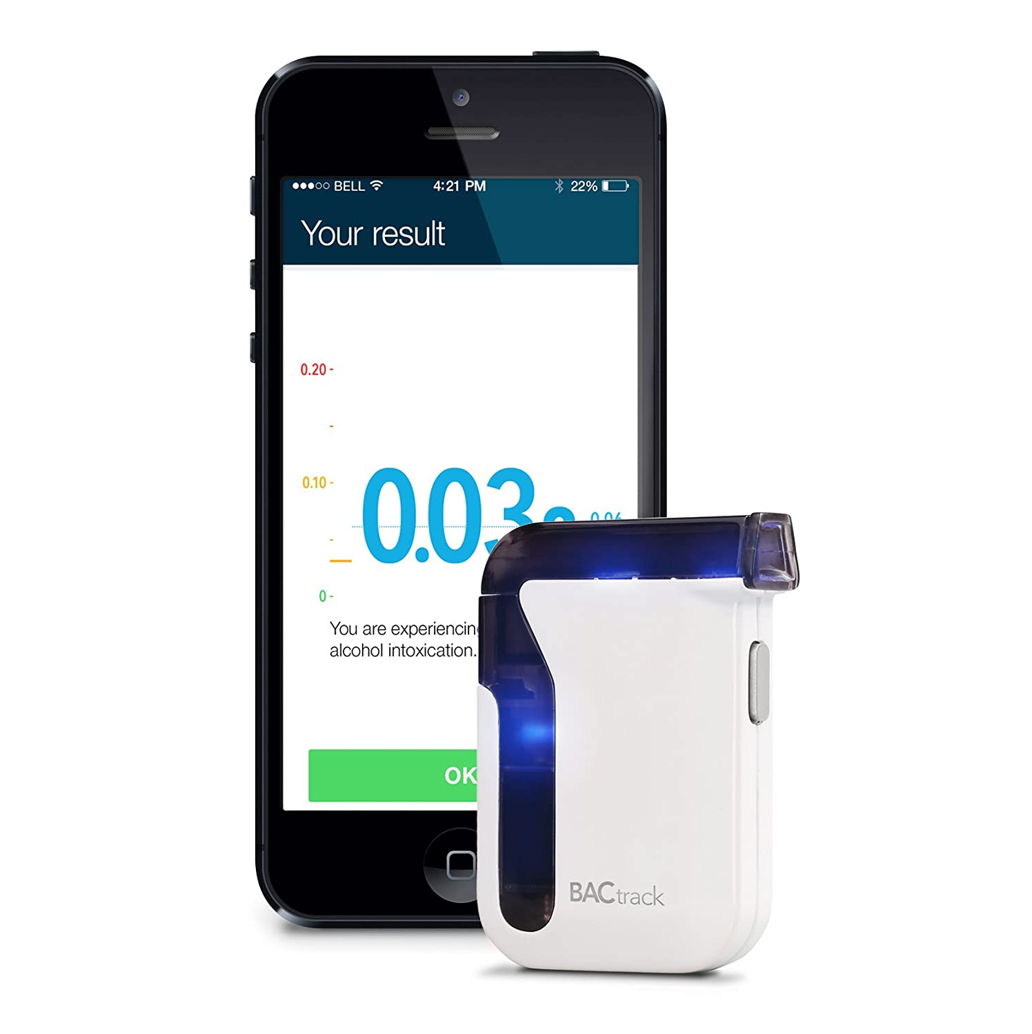 Amazon BACtrack Mobile Smartphone Breathalyzer for iPhone and