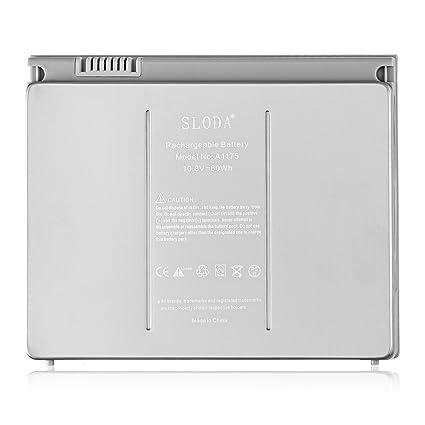 "SLODA nueva batería del ordenador portátil para Apple A1175 A1211 A1226 A1260 A1150 MacBook Pro """