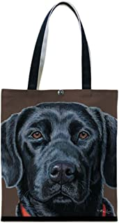 product image for Black Labrador Tote by Fiddler's Elbow