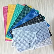 A2 (24L x 18W Inch) (600 x 450 mm) Self Healing Eco Friendly Colorful Cutting Mat (Black)
