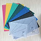 A4 (12L x 9W Inch) (300 x 220 mm) Self Healing Eco Friendly Colorful Cutting Mat (Blue)