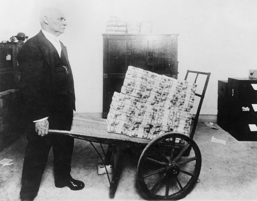 Mutilated Money in the Treasury部門写真 36 x 54 Giclee Print LANT-4000-36x54 36 x 54 Giclee Print  B01MG3MX46