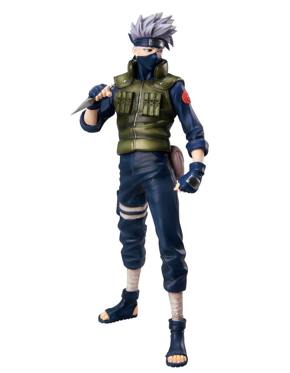 ahorra 50% -75% de descuento Naruto Naruto Naruto Shippuden MegaHouse Deluxe 9 Inch PVC G.E.M. Series Statue Kakashi Hatake (japan import)  marca de lujo