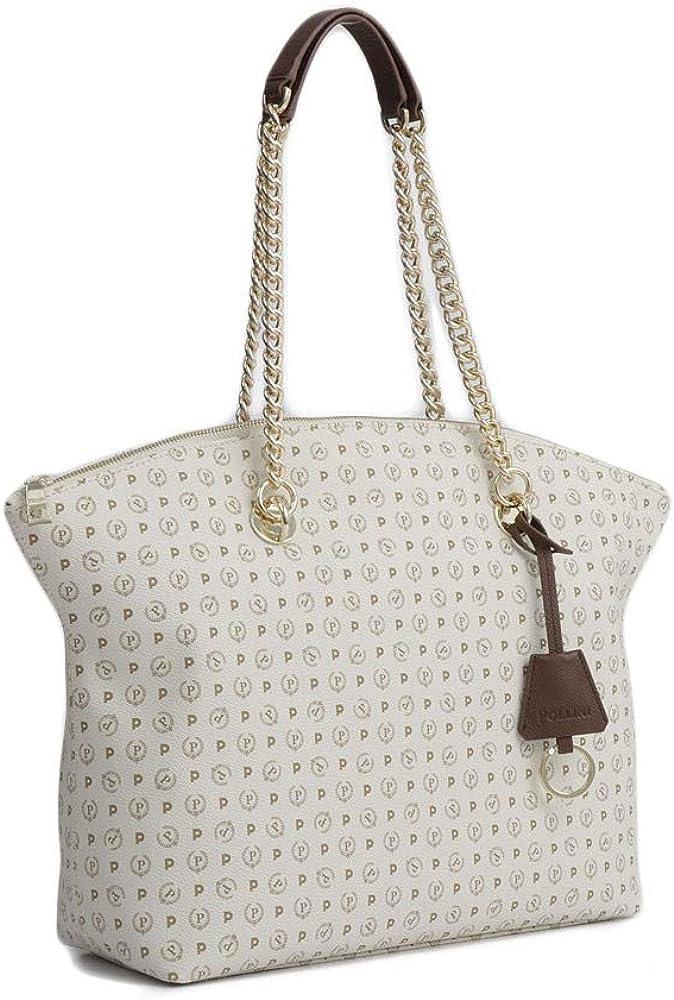 Shopping bag manici lunghi Pollini Heritage Classic