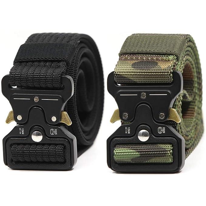 Amazon.com: Hosenhan - Cinturón táctico para hombre, estilo ...