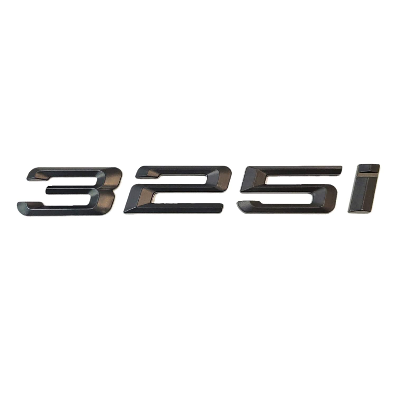 SUKRAGRAHA Replacement Model No 330i Rear 3D Sticker Emblem Badge for BMW 316i 318i 320i 323i 325i 328i 330i 335i