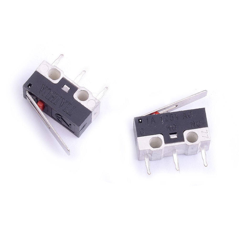 Cylewet 25pcs Ac 1a 125v 3pin Spdt Limit Micro Switch Long Hinge Switched To The Right Lever For Arduino Pack Of 25 Cyt1073 Industrial Scientific