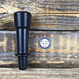 Condor Weighted Tall Knob with White Motorsports Cap