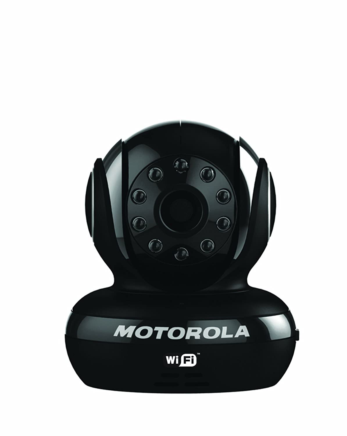 Motorola Scout1-B Wi-Fi Pet Monitor for Remote Viewing with iPhone and Android Smartphones and Tablets, Black Exclusive Group