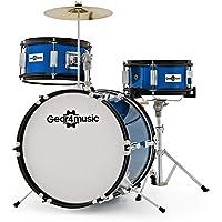Batería Júnior de 3 Piezas de Gear4music Azul