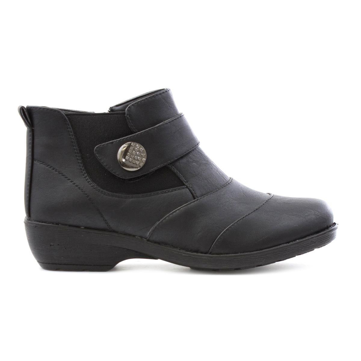 b8ec7b9f9 Softlites Womens Ankle Boot in Black - Size 9 UK - Black  Amazon.co.uk   Shoes   Bags