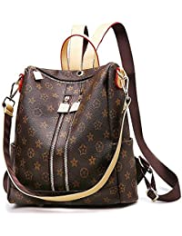 Designer Leather Backpack Purse for Women, Fashion PU...
