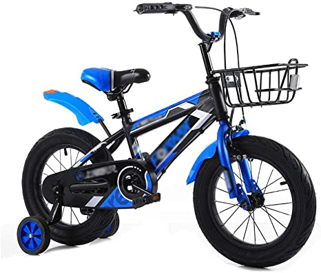 FINLR-Bicicletas infantiles Bicicleta De Niños Sueños Infantiles del Principito Niños del Muchacho Bici Bicicleta Niño Niños 3 Colores 18