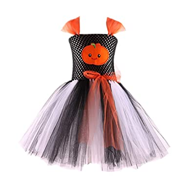 8f31bdd546541f Xinwcang Déguisement Enfant Fille Tutu Tulle Robe Princesse Soirée ...