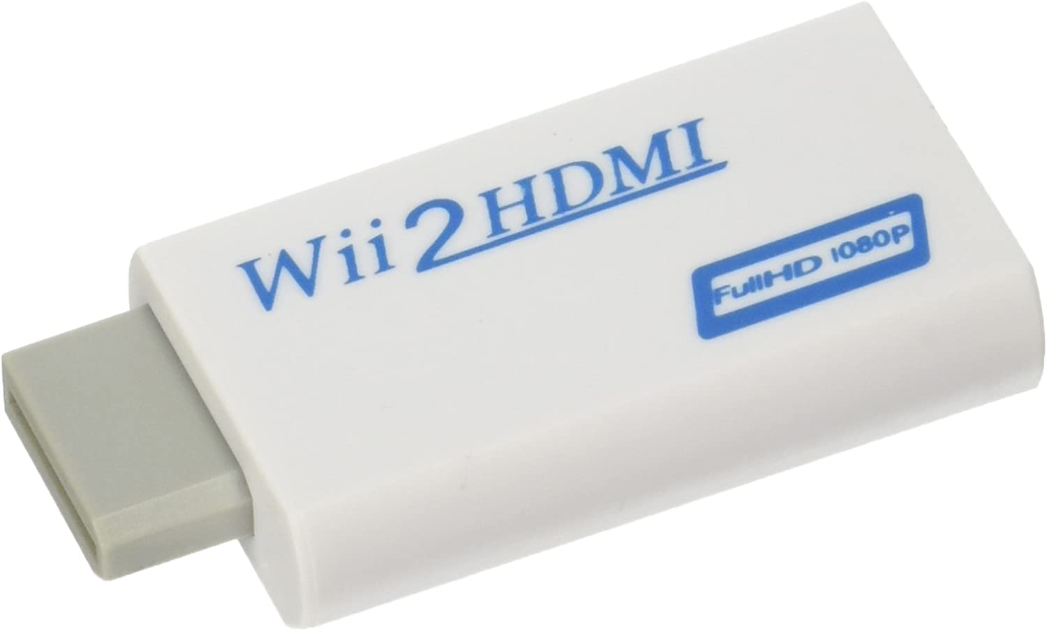 Eastvita Full 1080p 720P HD Nintendo Wii to HDMI Converter Output Upscaling Adapter 480i