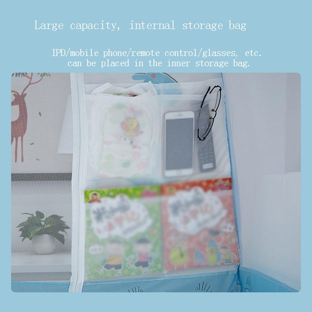 Moskitonetze Drei Türen zusammenklappbaren Polyester Massenspeicher Keine Keine Massenspeicher Notwendigkeit zu installieren Wetter- & Sichtschutz (Farbe   Pink, Größe   1.8 Meters (6 Feet) Bed) 5a59a4