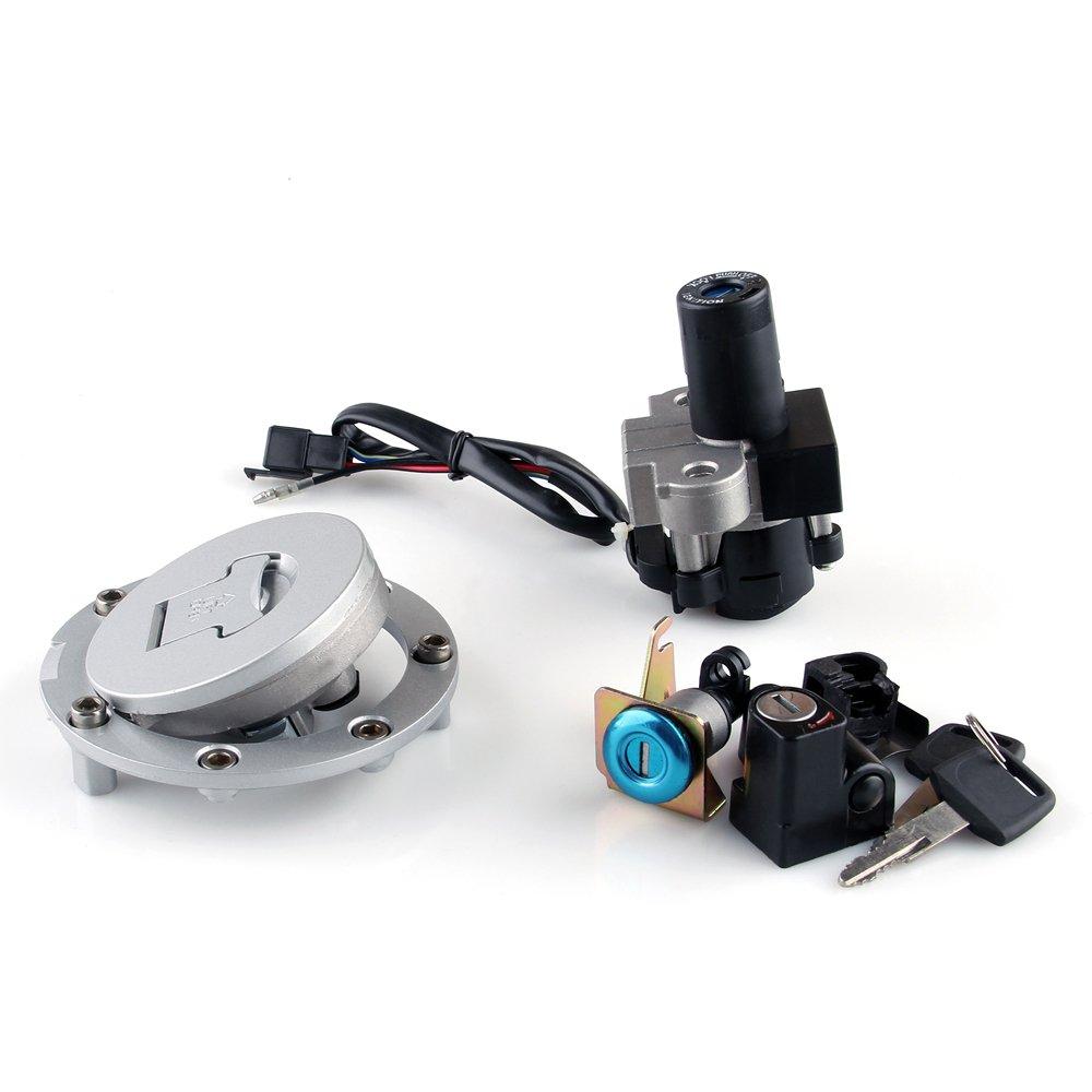 Artudatech Ignition Switch Lock Keys For Honda CBR250 11-13 CBR300R CB500 R/F/X CB600
