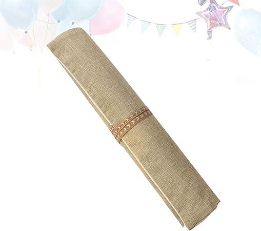 Estuches de lápices Rollo de Envoltura de lápiz Dibujo de Viaje Colorear Organizador de Rollo de lápiz: Amazon.es: Hogar