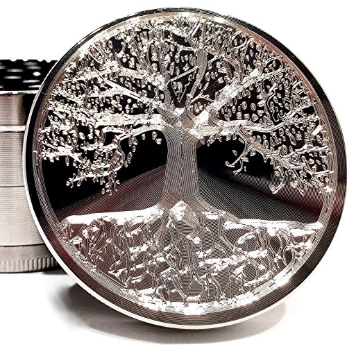 tree life etched titanium