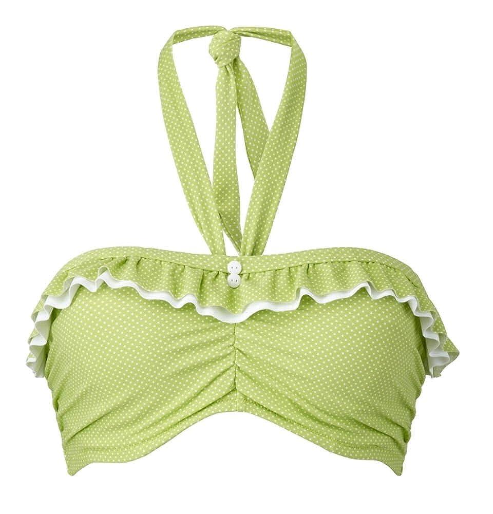 Freya Cherish Underwire Bandeau Bikini Top 3362 Lime Green