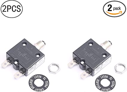 125//250Vac 20A 20 Amp Circuit Thermal Breaker Thermal Protector For Generator
