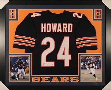 official photos a884e acc1a Jordan Howard Signed Bears 35x43 Custom Framed Jersey ...