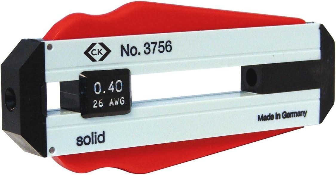 C.K 20 T3756 Drahtabisolierer 32 AWG Schwarz Rot Wei/ß 0,20 mm
