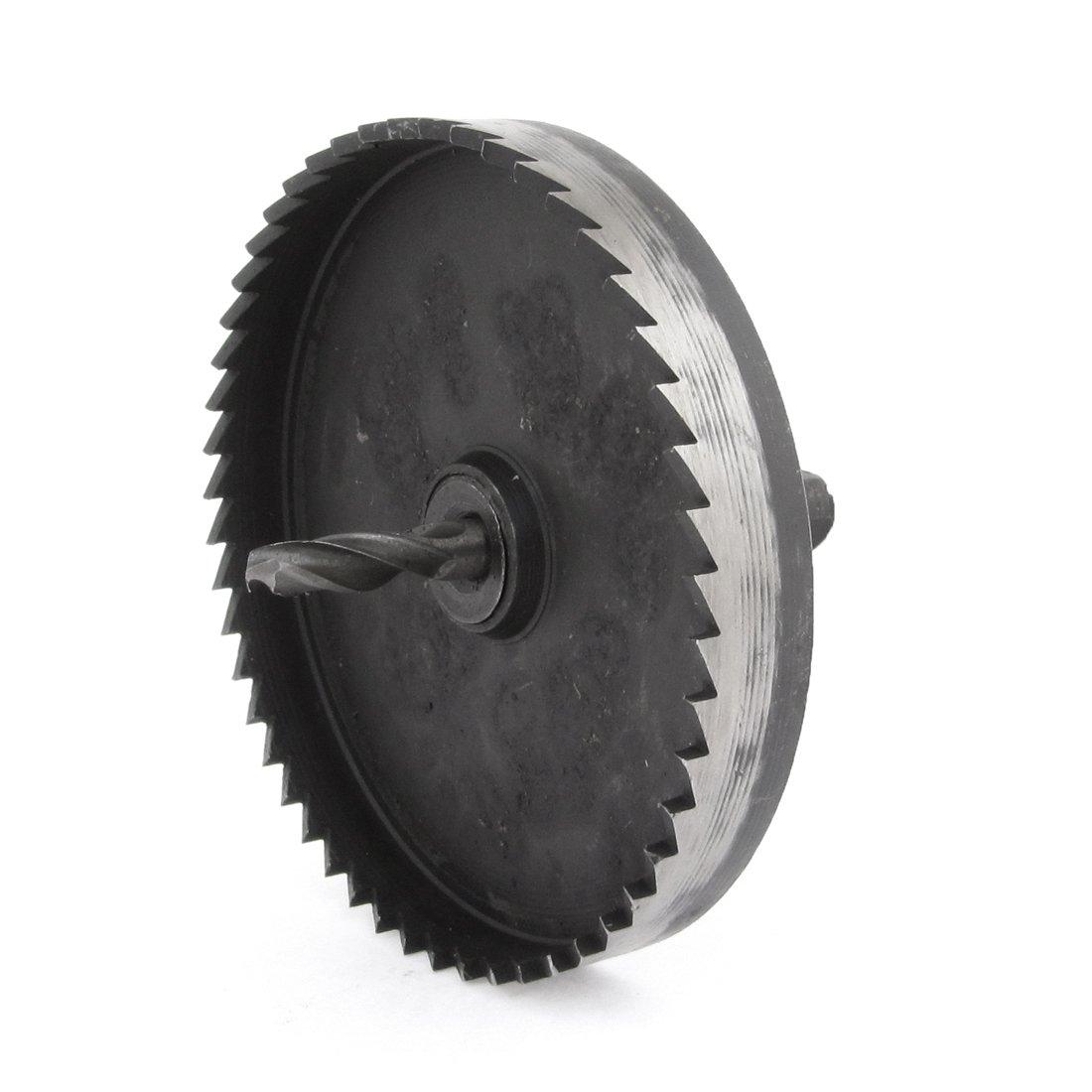 Negro HSS 6 mm corona de puntas 85 mm para cortar sierra perforadora el/éctrica
