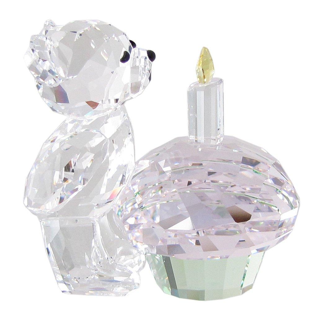 スワロフスキー SWAROVSKI クリスタル フィギュア クリスベア Kris Bear タイム トゥ セレブレート Time to Celebrate 5301570 [並行輸入品] B079M7867R