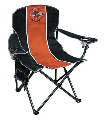 Harley Davidson Bar U0026 Shield Compact Chair, X Large Size W/ Carry