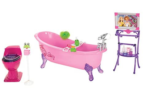 Amazon.com: Barbie Glam Bathtub: Toys & Games