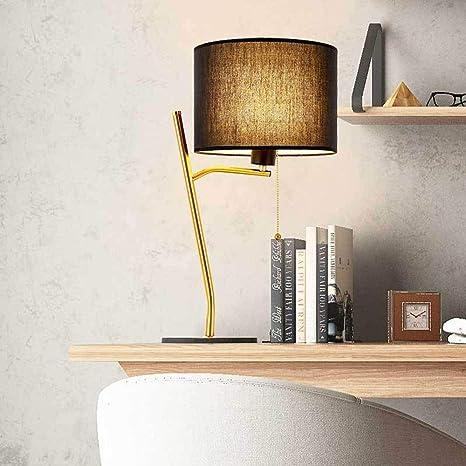 Lámpara de mesa nórdica posmoderna Lino E27 Luz de escritorio Luz ...