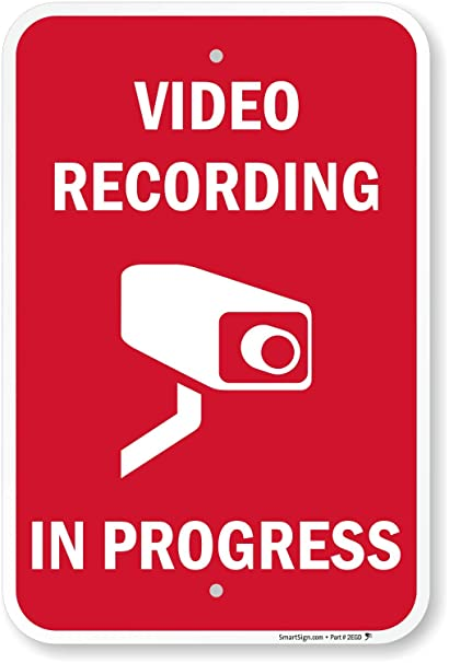 Amazon.com: Grabación de vídeo in Progress (con Graphic ...