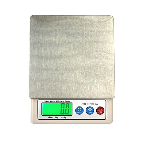 Xiaochou@sl Balanzas electrónicas de Cocina Pantalla de 2,2 Pulgadas y básculas médicas