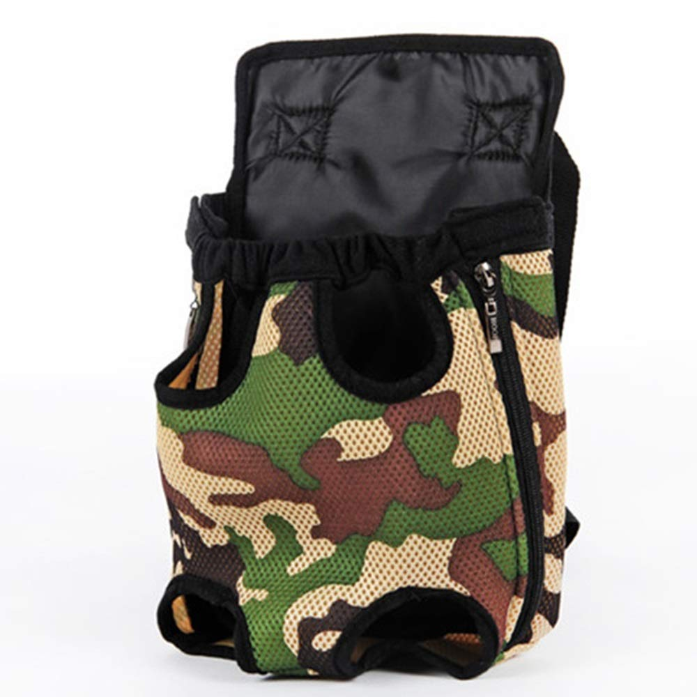 D 38CMX20CM D 38CMX20CM DR Pet Bag Dog Backpack Pet Chest Bag Teddy Dog Bag Outing Carrying Case Pet Chest Strap Back Dog Bag pet Bag Carrier (color   D, Size   38CMX20CM)