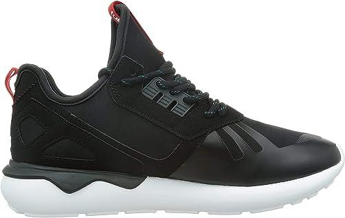adidas Originals Herren Tubular Runner Weave Sneaker, Schwarz