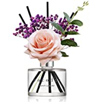 Cocod'or Rose Flower Reed Diffuser, French Lavender Reed Diffuser, Reed Diffuser Set, Oil Diffuser & Reed Diffuser…