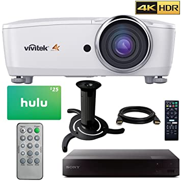 VIVITEK hk2288 4 K DLP proyector con alto rango dinámico (blanco ...