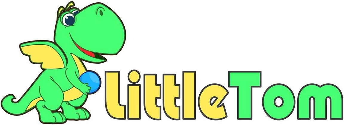LittleTom 100 Bunte B/älle f/ür B/ällebad 7cm Babyb/älle Plastikb/älle Baby Spielb/älle
