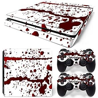 Sony Ps4 Playstation 4 Skin Design Aufkleber Schutzfolie Set White Wood Motiv Pc- & Videospiele Faceplates & Designfolien