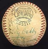 Ty Cobb Jimmie Foxx Tris Speaker Multi Hof Signed Baseball - PSA/DNA Certified