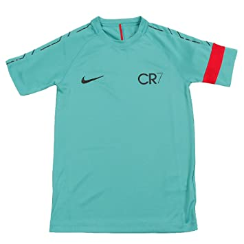 f9d03d3f Nike CR7 B NK Dry Acdmy Top SS Kinetic Green/Deep Pewter/Meta ...