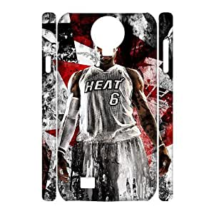 C-EUR Cell phone case Lebron James Hard 3D Case For Samsung Galaxy S4 i9500